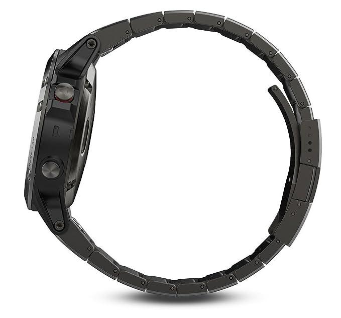Reloj GPS de Garmin 5S Multisport con navegador y pulsera de ...
