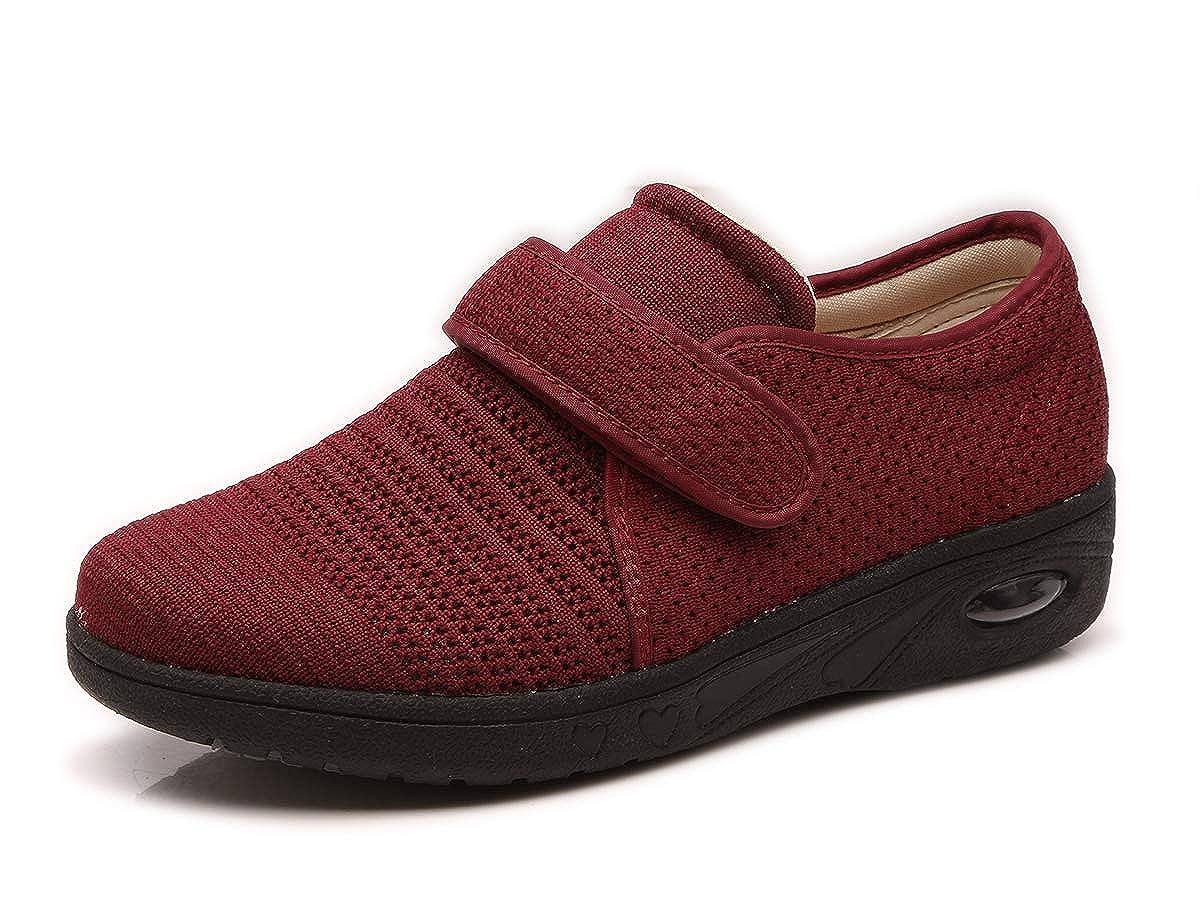 Red Mei MACLEOD Women Arthritis Edema Adjustable Closure Diabetic Swollen feet shoes