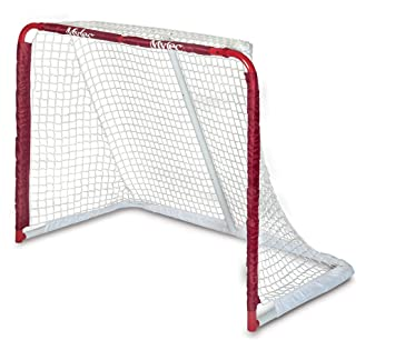 Amazon mylec all purpose steel goal red hockey nets mylec all purpose steel goal red reheart Choice Image
