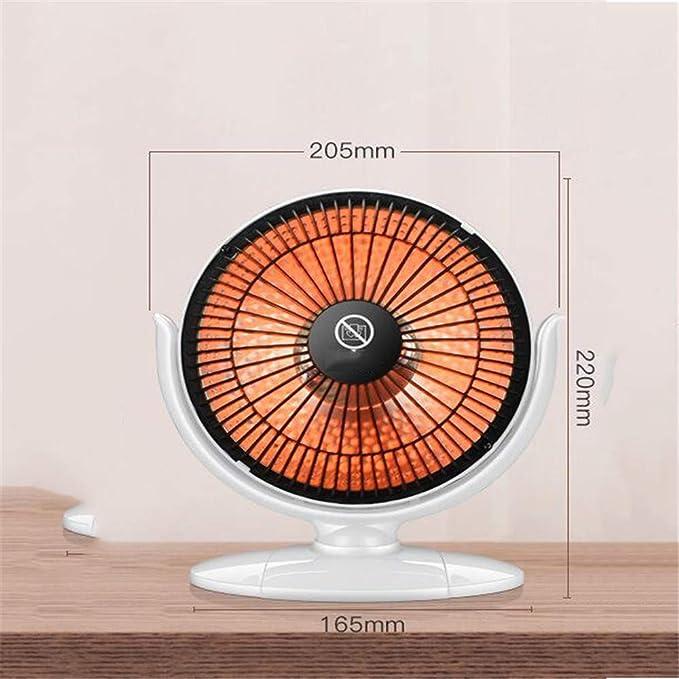 ARAYACY Calentador Hogar/Mini Calefacción Eléctrica Luz Oscura Dormitorio del Estudiante Pequeña Potencia Oficina Estufa 200W,Pink: Amazon.es: Hogar