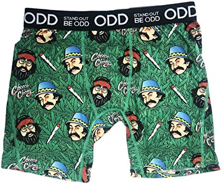 Cheech and Chong Zombies Fashion Mens Boxer Briefs Underwear Breathable Stretch Boxer Trunk
