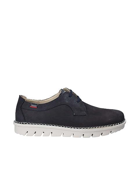 93b36b87d10 Callaghan 14500 Zapatos de Hombre Azul Zapatillas de Deporte Bajas   Amazon.es  Zapatos y complementos