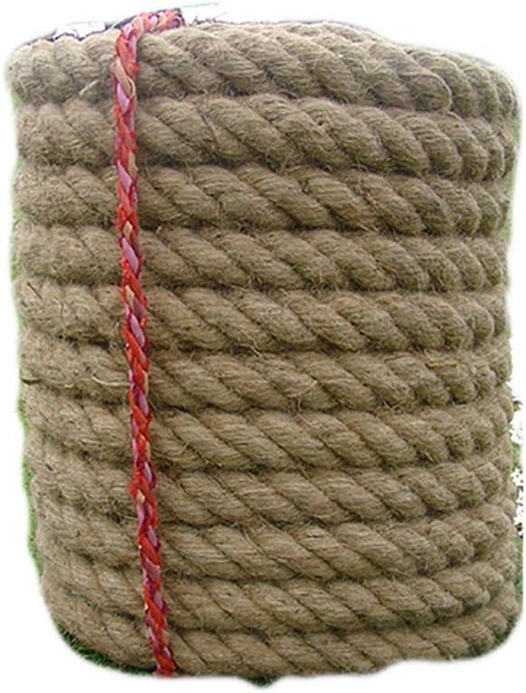 MLMHLMR Tug-up 麻ロープ 取り外し 競技用 大人 子供 綱引きロープ 家族活動 6サイズ クライミングロープ 23MM 15M 1155  23MM 15M