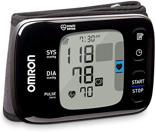 OMRON 7 Series Wireless Wrist Blood Pressure Monitor elderly gadget