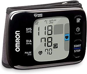 OMRON 7 Series Wireless Wrist Blood Pressure Monitor, Black