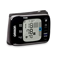 OMRON 7 Series Wireless Wrist Blood Pressure Monitor, Black