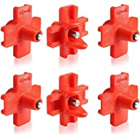Poultry Water Nipples, MOGOI Automatic Horizontal Side Mount Chicken Water Drinker, 6Pcs