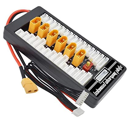 Amazon.es: Kaemma HotRc XT60 2S-6S Plug Lipo Batería Tarjeta ...