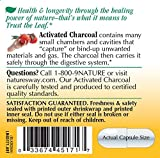 Natures Way Activated Charcoal; 560 mg Charcoal per serving; 100 Capsules