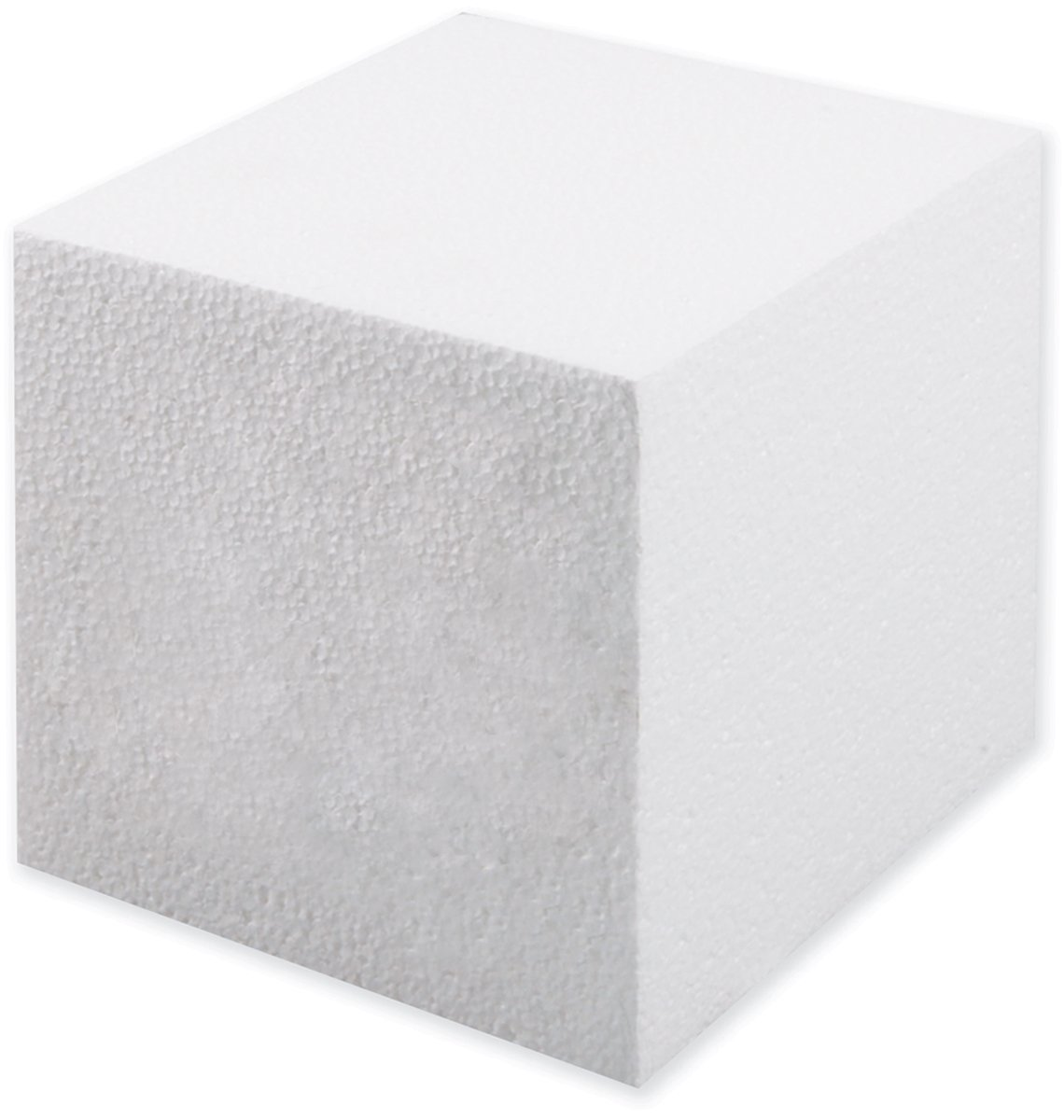 Smoothfoam Cube Crafts Foam for Modeling, 5-Inch, White Notions - In Network RT924