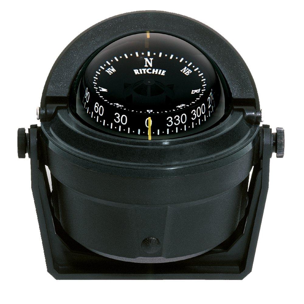 Ritchie B00197T63U Compass B-81 Bracket Mount Voyager Mount Compass - Black B00197T63U, 金光町:15f3805f --- itxassou.fr