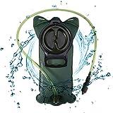 MOGOI Hydration Bladder, 2L/2.5L/3L BPA Free Leakproof Water Reservoir for Hiking Biking Climbing Cycling Running