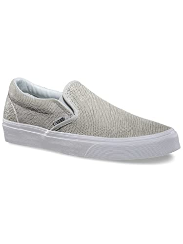 Amazon | Vans Kids Classic SlipOn Pebble Snake Glacier Gray  VN0ZMRFJH 5 5 | Fashion Sneakers