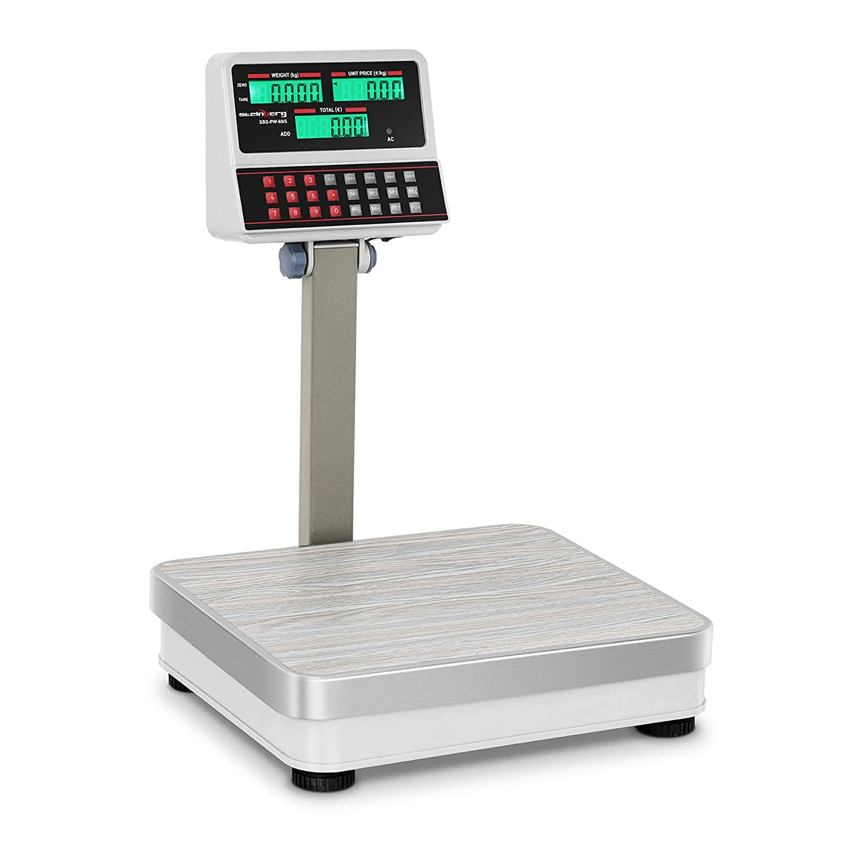 Env/ío Gratuito Steinberg Systems SBS-PW-100//10 LCD Balanza comercial 100 kg // 10 g- blanca