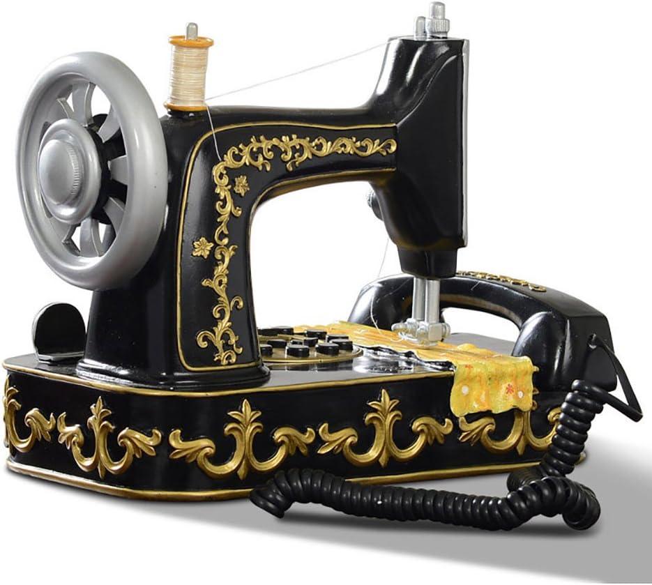 Teléfono TT Máquina de Coser telefónica Retro Modelado de la ...