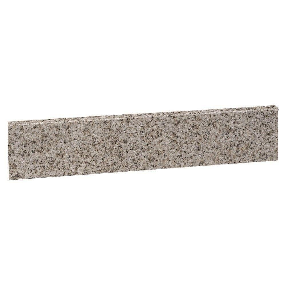 Design House 552513 22-Inch by 4-Inch Granite Universal Side Splash, Golden Sand
