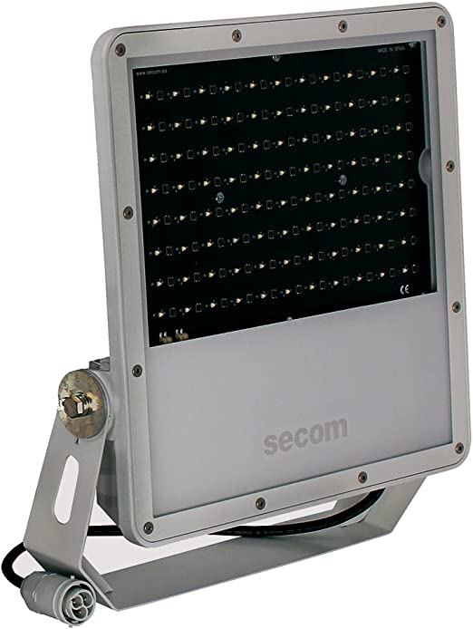 Secom Protek Q2 Proyector industrial LED, 100 W, Gris: Amazon.es ...