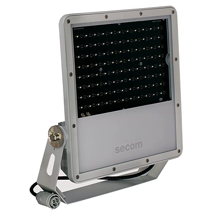 Secom Protek Q2 Proyector Industrial LED, 200 W, Gris: Amazon.es ...