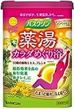 バスクリン薬湯 カラダめぐり浴 ほっとくつろぐアジアンシトラスの香り 600g 入浴剤 (医薬部外品)
