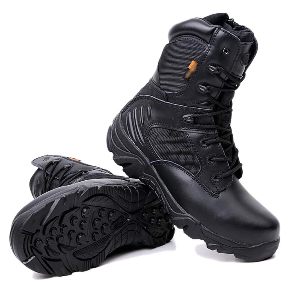 Delta Army Stiefel Forces Herren Wüste High-Top-Kampfstiefel Special Forces Stiefel Ausgebildete Angriff Schuhe Taktik Armed Footwear schwarz bf1a16