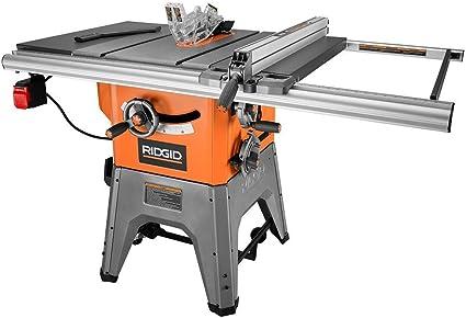 RIDGID R4512 10 in. 13-Amp Cast Iron Table Saw