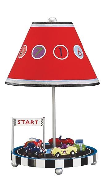Amazon.com: Guidecraft Retro Racers lámpara de mesa: Baby