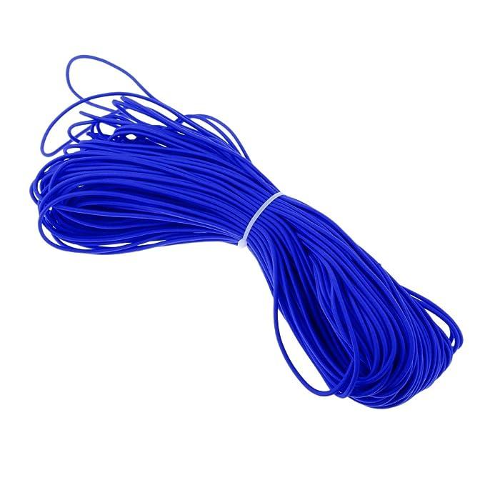 3mm 0.5m-100m Elastic Bungee Rope Shock Cord Tie Down DIY Crafting Accessories