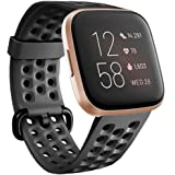 Compatible with Fitbit Versa 2/Versa/Versa Lite/Special Edition Bands Sport Strap Silicone Material Breathable Strap Bands for Fitbit Versa 2 Smart Fitness Watch