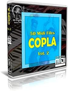 Copla - Vol. 2 - Pendrive USB OTG para Teclados Midi, PC ...