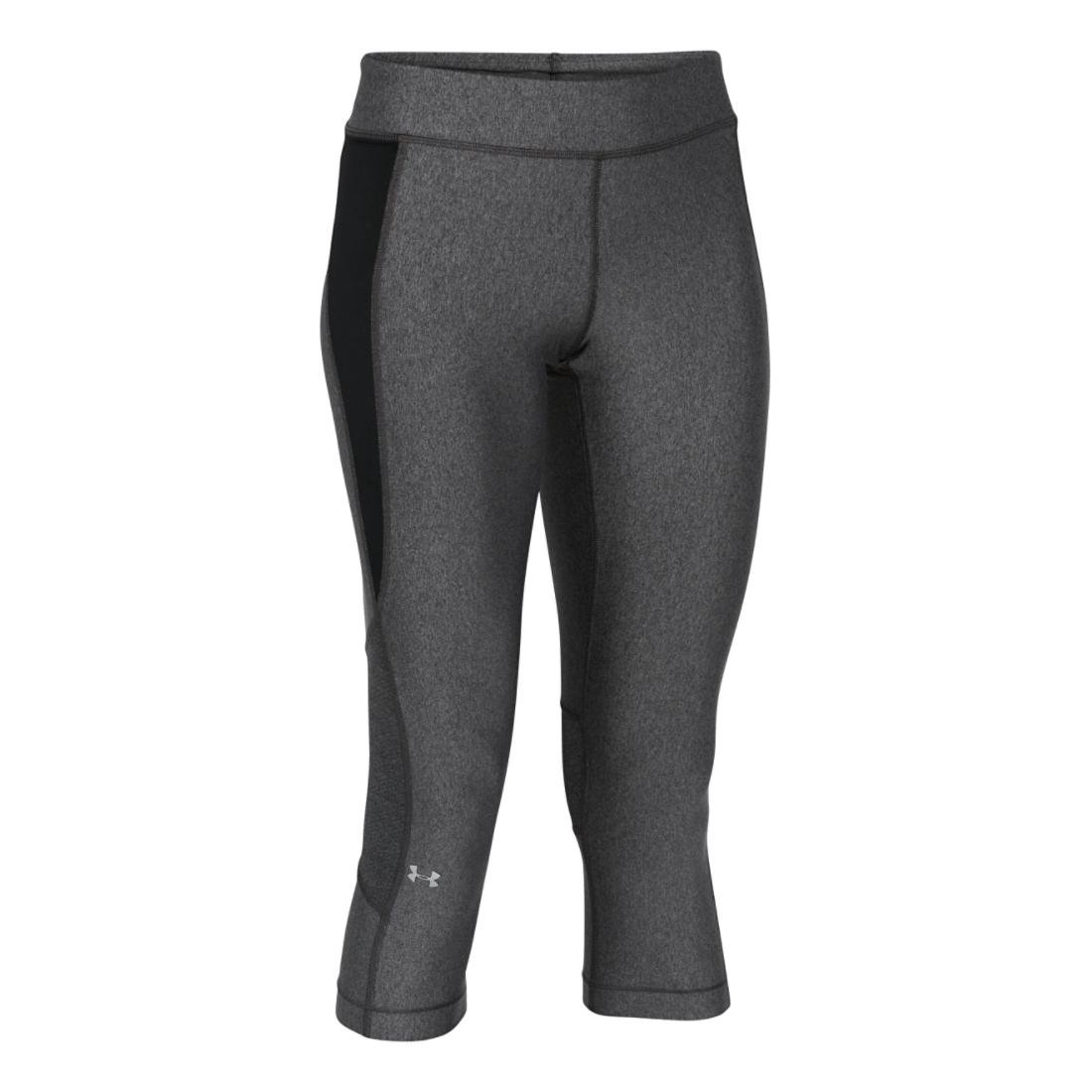 TALLA S (SM). Under Armour UA HG Armour Crop Leggings Piratas, Mujer