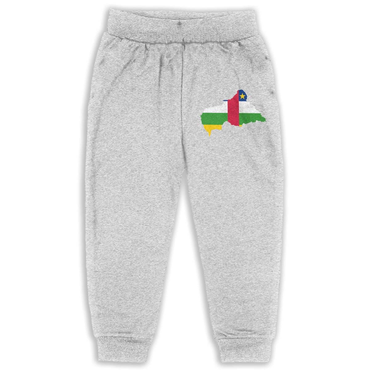 Fleece Active Joggers Elastic Pants DaXi1 Central-African Sweatpants for Boys /& Girls