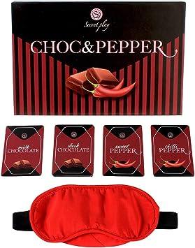 Juego Erótico Pruebas Choc & Pepper: Amazon.es: Salud y cuidado personal