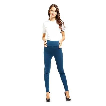 CLE DE TOUS - Ajustable Pantalones de Lactancia y Premamá Ropa de Embarazada (Apto para