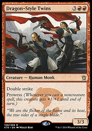 Magic The Gathering - Dragon-Style Twins (108/269) - Khans of Tarkir by: Amazon.es: Juguetes y juegos