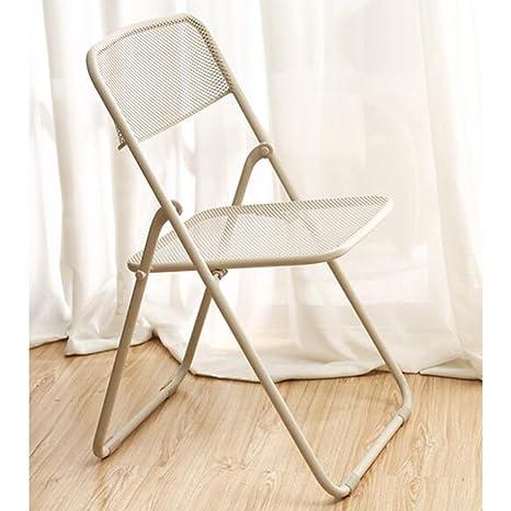 Amazon.com: Sillas plegables Xiaolin silla de comedor ...