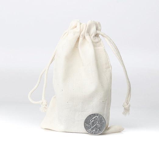 Amazon.com: bolsas de muselina de lino bolsas de cordón de ...