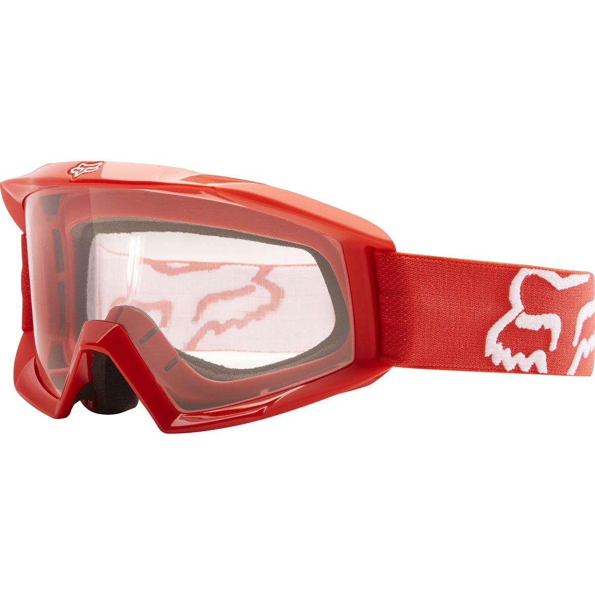Fox Racing Main Youth Moto Motorcycle Goggles Eyewear - Red/No Size