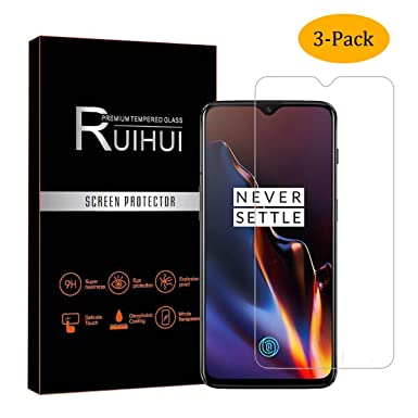 3-Pack] Oneplus 6T Screen Protector,[NOT for Oneplus 6