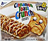 Cinnamon Toast Crunch Treats 8 Bars each Pack of 3