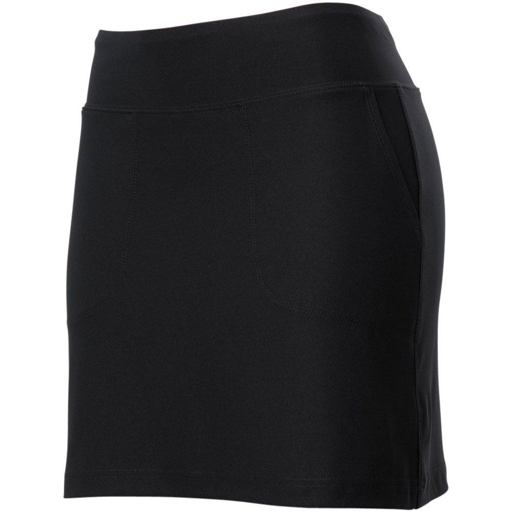 ixspa Women's Pull On Knit Skort Black L