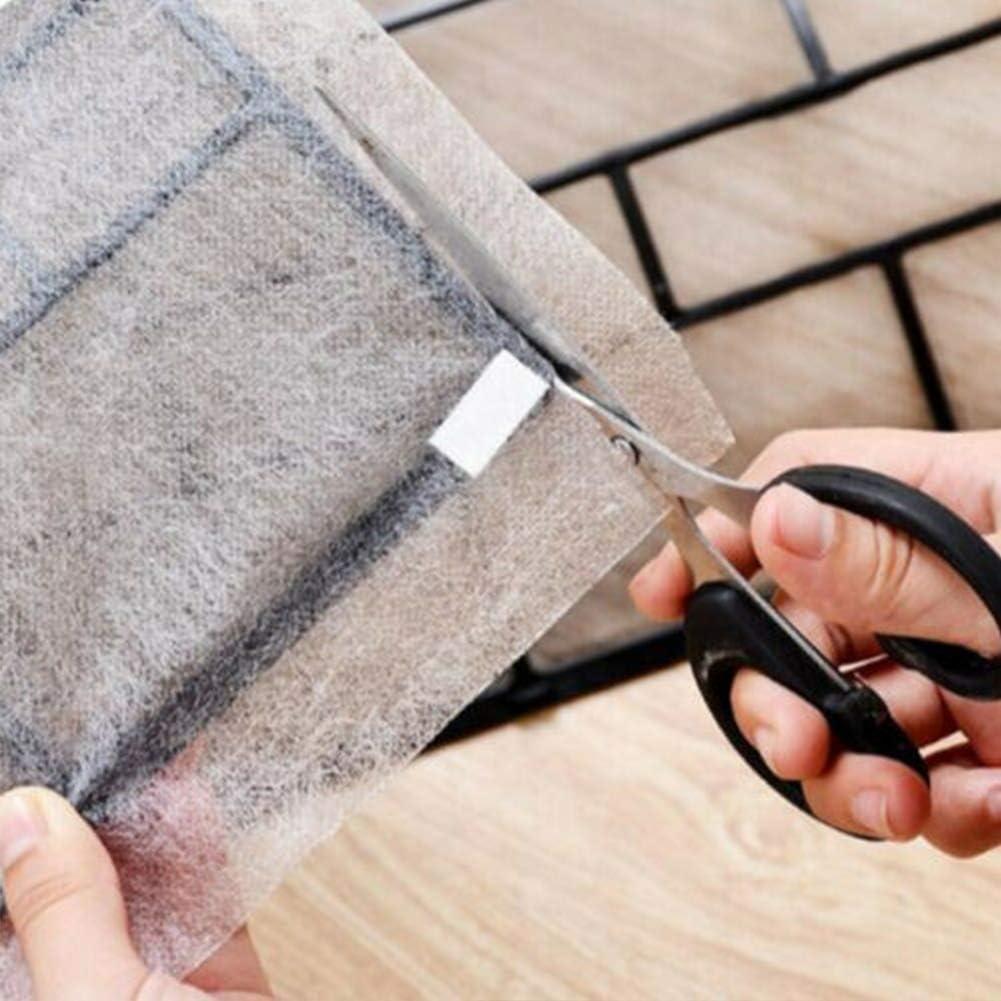 2 pezzi//borsa filtro aria condizionata tessuto non tessuto anti-polvere sostituzione rete pratica purificante camera da letto pulizia scalabile maglia condizionamento panno casa