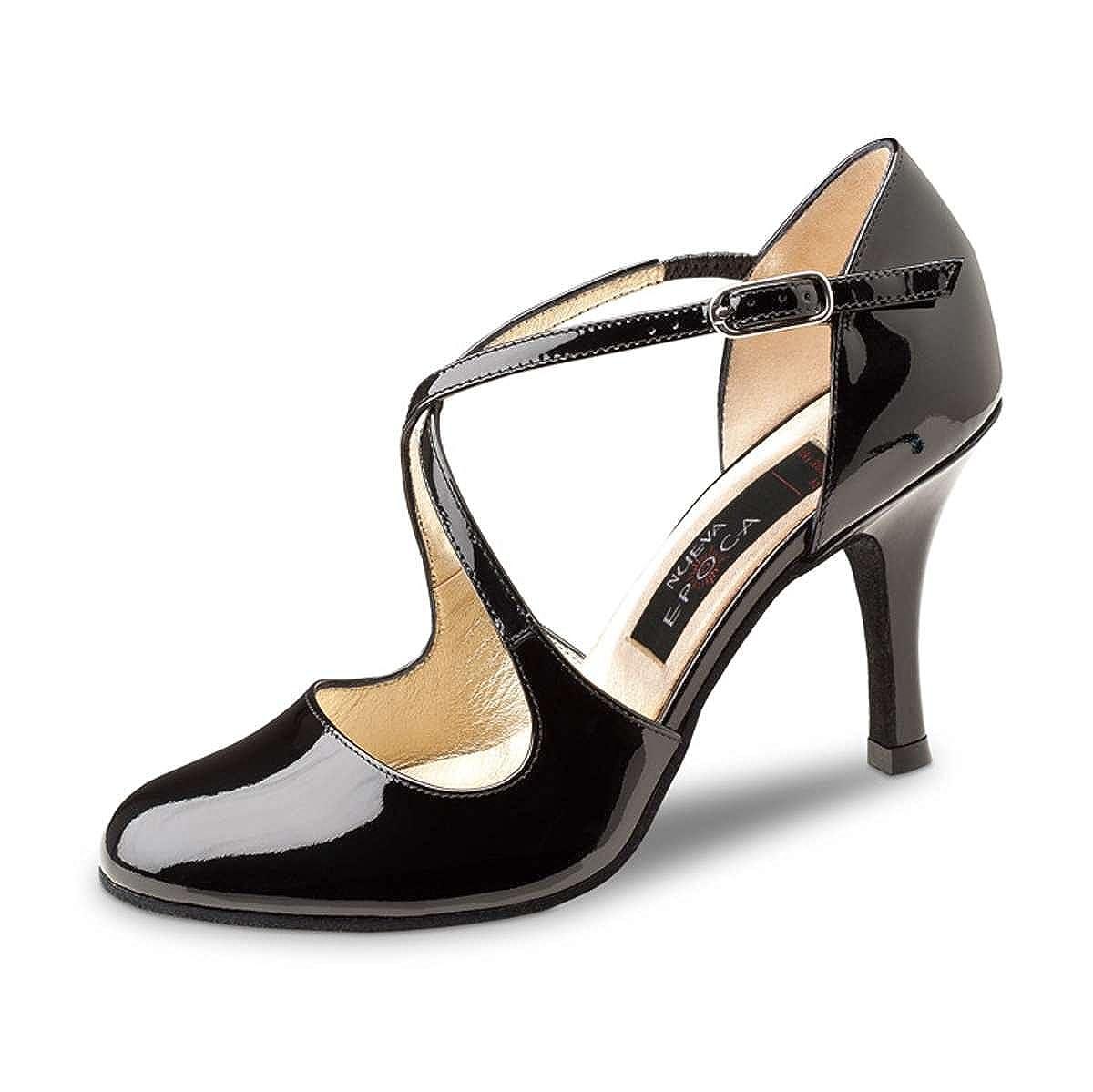 /8/cm Nueva Epoca/ /Tango//Salsa Femme Chaussures de Danse Loupe/ /Vernis Noir/