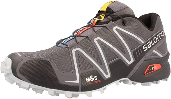 Salomon Speedcross 3 Zapatilla De Correr Para Tierra - 44.7: Amazon.es: Zapatos y complementos