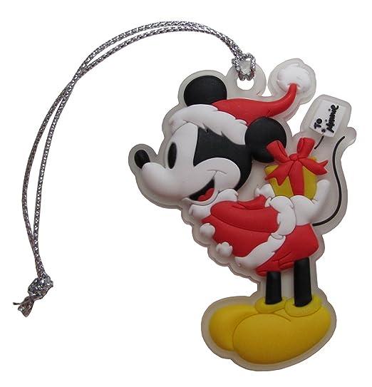 disney retro mickey mouse santa clause hanging christmas tree ornament - Mickey Mouse Christmas Tree Ornaments