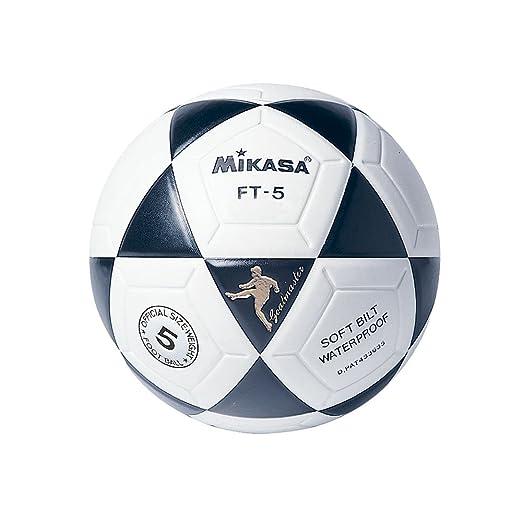 8 opinioni per Mikasa Ft-5 Pallone Calcio, Bianco/Nero, 5
