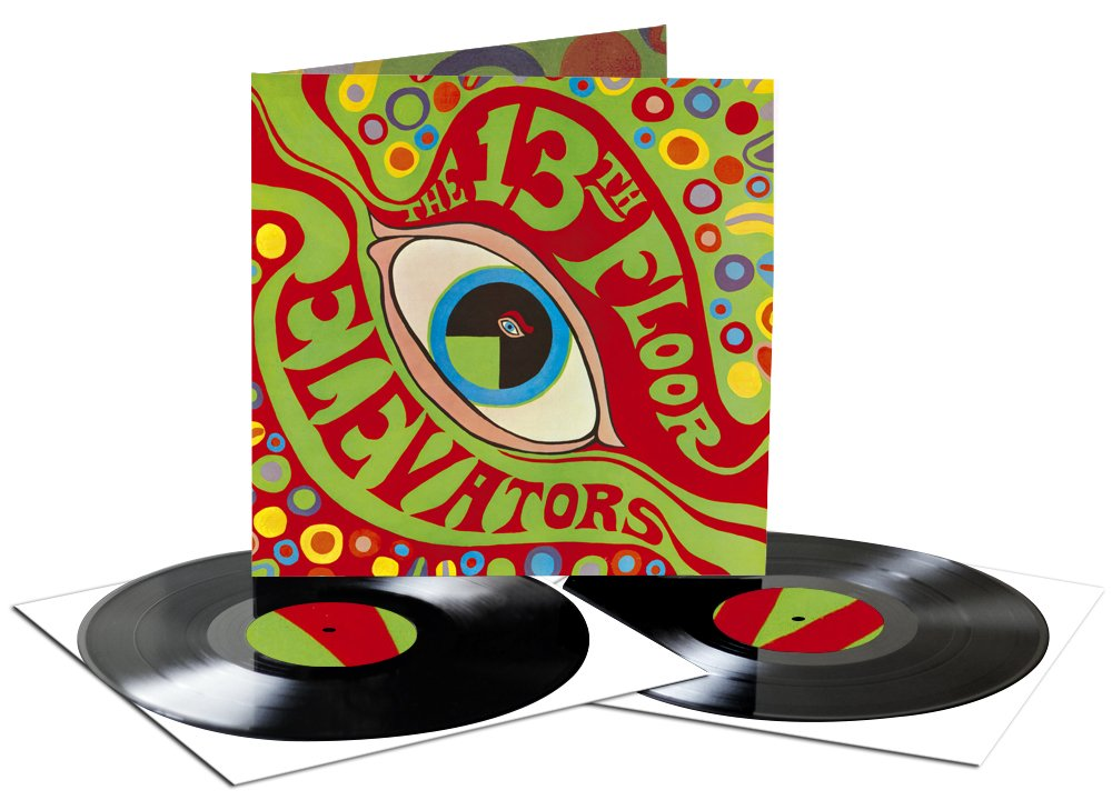 The Psychedelic Sounds Of The 13th Floor Elevators ( 2 LP Gatefold ) by CHARLY