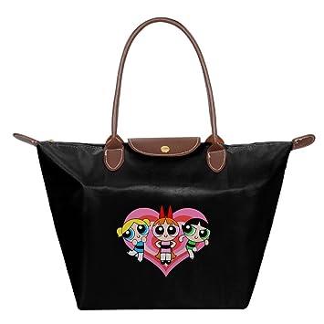 F1&Cany Womens Powerpuff Girls Handbag Fold Dumplings Type Shoulder ...