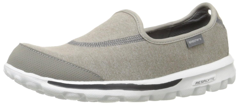 Skechers Performance Women's Go Walk Slip-On Walking Shoe B0058XLOSG 5 B(M) US|Grey