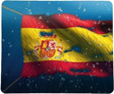 my-puzzle-design alfombrilla de ratón Bandera de España Bajo el mar Agua Nacional rasgado de la burbuja 3D: Amazon.es: Electrónica