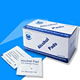 Yiwa 100 Pcs/Box Alcohol Tablets Disposable Medical Disinfection Wound Alcohol Wipes Travel Accessories